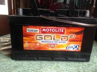 MOTOLITE GOLD Battery DIN66 Special Type