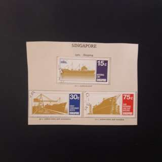 Singapore  1970 stamps