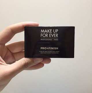 Make up for ever travel power foundation