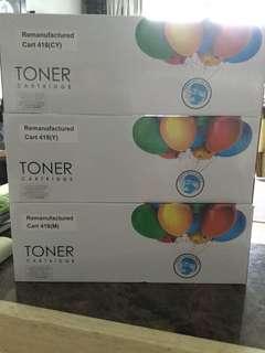 Printer Toner 418(CY)