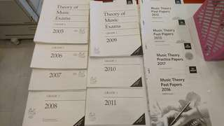 ABRSM GRADE 1 past year theory exam papers