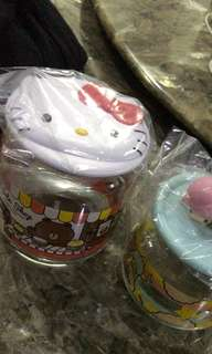 Hello kitty 7-11 jar cup