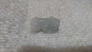 翡翠貔貅 28.9x14.3x13.8mm 200元