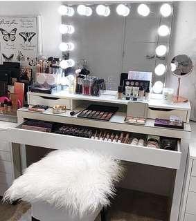 Super sale vanity station