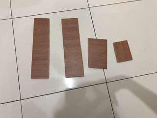 Scrap foam piece (wood design)