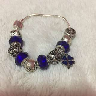 Pandora Inspired 925 Fashion Bracelet and Charms - brand new