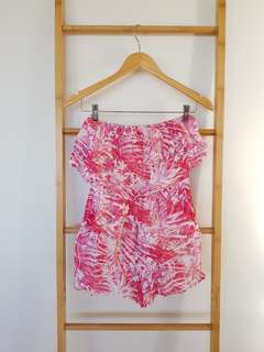 Forever New Strapless Playsuit Size 6