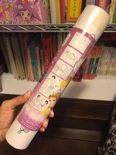 Disney princess colour different posters 25張 迪士尼公主系列 填色 海報