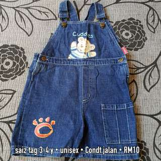 Baby Short Overall