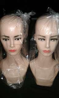 Manekin Kepala Display Dewasa Wanita & Anak