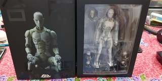 1000 toys toa heavy industry 1/12 scale synthetic human