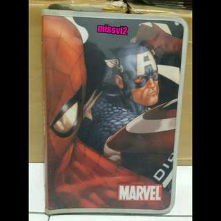 Map Zipper Animasi Marvel Ukuran A4