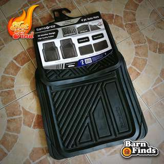 SAMSONITE ALL-WEATHER CAR MATTING