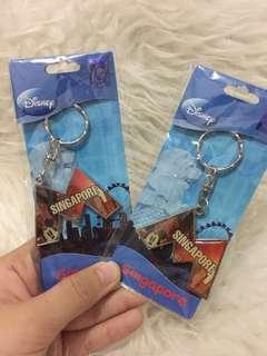 2 pcs Gantungan Kunci Mickey Mouse