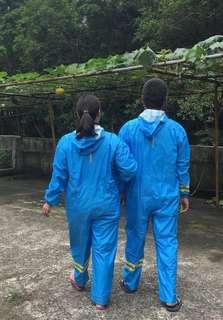 🚚 現貨‼️極輕👍親子連身式雨衣(成人款)