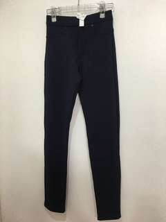 H&M Dark Blue Pants