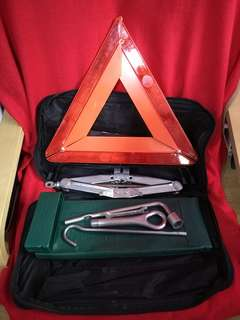 Perodua complete tools set emergency tool with bag and car jack
