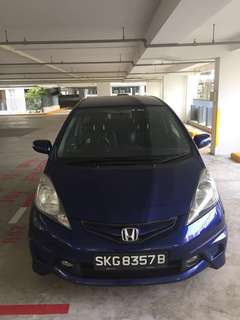 *** GRABCAR USAGE - Honda Jazz 1.3A ***