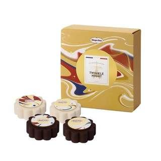 Häagen-Dazs 月餅劵 法式復古 四件裝