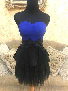 Dress Prom / Mini Dress / Baju Dance / Kostum Dance