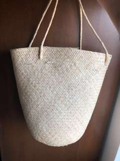 [Brand New] Woven Straw Bag