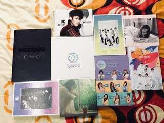 Preloved Kpop Albums