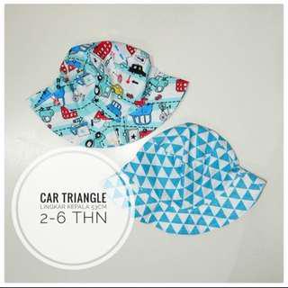 Bucket Hat Car Triangel