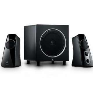 Logitech z523 Stereo Speakers + Subwoofer