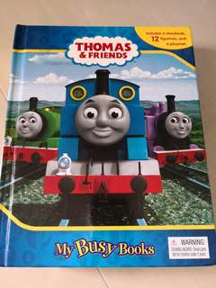 Thomas The Train Busy Book (book, map and figurines)