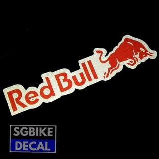 Redbull Decal Reflective
