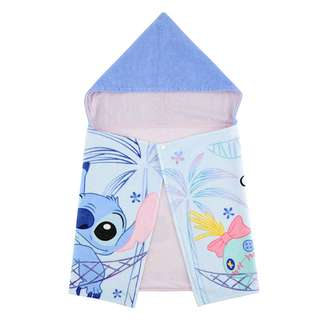Japan Disneystore Disney Store 2018 Cool Collection Stitch & Strump Towel with Hood Preorder