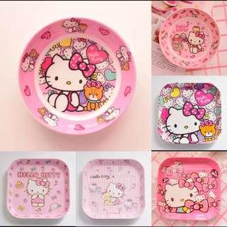 Preorder- Sanrio Hello Kitty/My Melody/Little Twin Stars/Disney Small Round/Square Plates