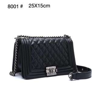 PO.3-5hari. Chanel boy bag. Size 25x15cm. (LIMITED STOCK). Price Rp.330.000,-