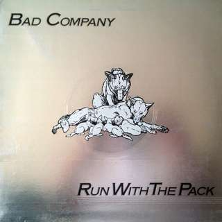 Bad Company - Run With the Pack - Near Mint LP