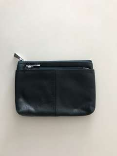 Genuine leather coin bag for let go
