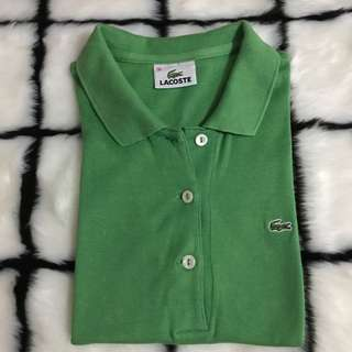 Authentic Lacoste Polo Green