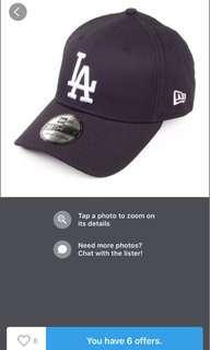 New Era LA Baseball Cap
