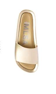 FLASH SALE: Melissa Beach Slide Shine Sandals