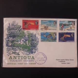 Antigua 1968 First Day Cover