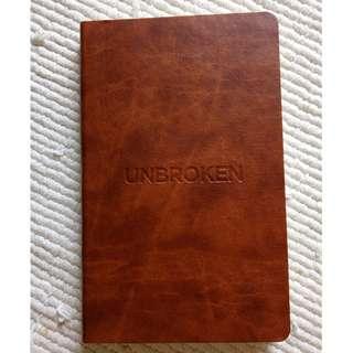 Unbroken movie notebook (Castelli)