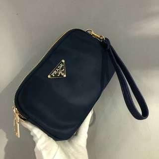 Prada Sling Bag Navy Blue