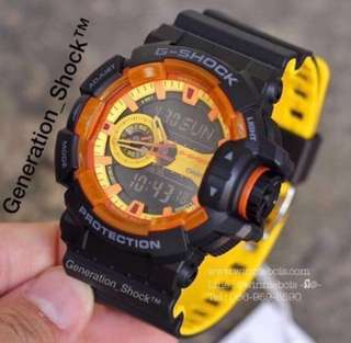 🚚 NEW🌟ARRIVAL in GSHOCK DIVER SPORTS WATCH 1-YEAR OFFICIAL WARRANTY : 100% ORIGINALLY AUTHENTIC G-SHOCK Resistant in DEEP BLACK STEALTH MATT ABSOLUTELY TOUGHNESS Best Gift For Most Rough Users & Unisex : GA-400BY-1ADR / GA-400 / GA400 / GA400BY
