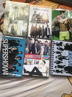 Super Junior Note Books