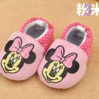 Minnie Mouse Soft Baby Infant Shoes
