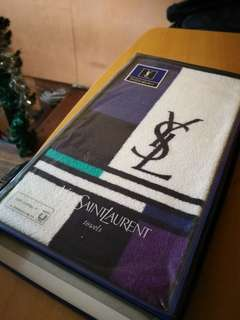 Authentic YSL Long Towel From Japan