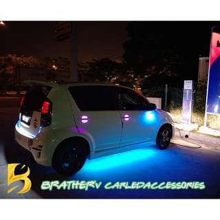 (6) LED Light Under Car