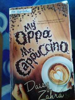 Novel best my oppa mr.cappuccino