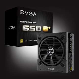 EVGA SuperNOVA 650 G1+, Full Modular, 80 Plus Gold