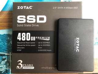Zotac SSD 480GB Premium Edition (nego)