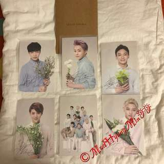EXO-M NATURE REPUBLIC PHOTOCARD (BUY 6 GET 4 FREE)